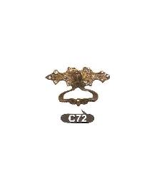 Дръжки за мебели от месингC72 РАЗПРОДАЖБА-50%