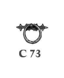Мебелни дръжки месинг C73РАЗПРОДАЖБА-50%
