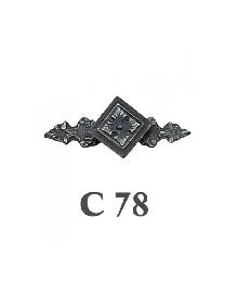 Дръжки за мебели месинг C78РАЗПРОДАЖБА-50%