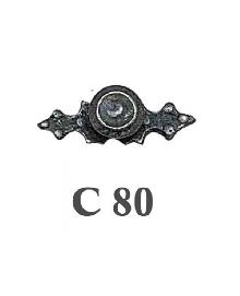 Дръжки за мебели месинг C80РАЗПРОДАЖБА-50%