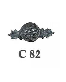 Дръжки за мебели месинг C82РАЗПРОДАЖБА-50%
