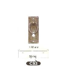 Дръжки за мебели месинг C93РАЗПРОДАЖБА-50%