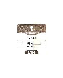 Мебелни дръжки месинг C94РАЗПРОДАЖБА-50%