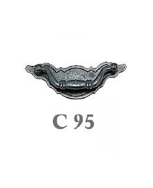 Дръжки за мебели месинг C95РАЗПРОДАЖБА-50%