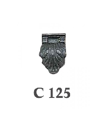 Мебелни дръжки от месинг C  125