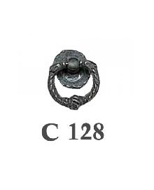 Дръжки за мебели месинг C128РАЗПРОДАЖБА-50%