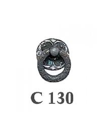 Дръжки за мебели месинг C130РАЗПРОДАЖБА-50%