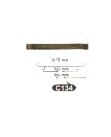 Дръжки за мебели месинг C134РАЗПРОДАЖБА-50%