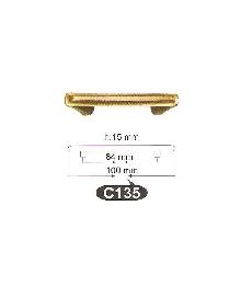 Мебелни дръжки месинг антик C135РАЗПРОДАЖБА-50%
