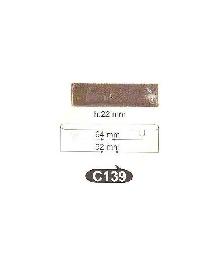 Мебелни дръжки от месинг C  139