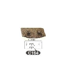 Мебелни дръжки месинг C164РАЗПРОДАЖБА-50%