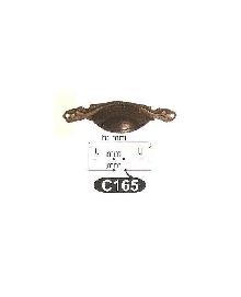 Мебелни дръжки месинг C165РАЗПРОДАЖБА-50%