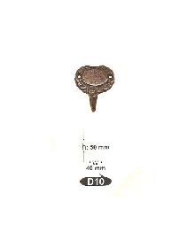 Закачалки от месинг D 10