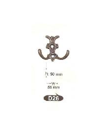 Закачалки от месинг D 26