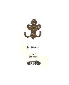 Закачалки от месинг D 86