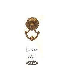 A 174 чукче за врата-месинг-оксит,антик ЛИКВИДАЦИЯ-50%