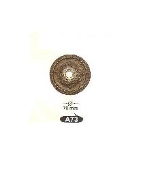 A 73декор.розетка звънец-месинг-оксит,антик-ЛИКВИДАЦИЯ-40%