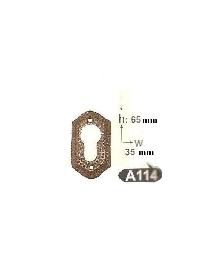 Розетка за врати-месинг А114 РАЗПРОДАЖБА-50%