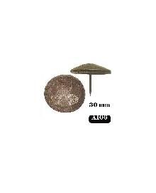 A 106,кабари за мебели и врати Ф 30мм месинг-ЛИКВИДАЦИЯ-40%