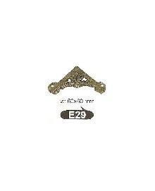 E 29   Ъгли ,материал месинг,цвят оксит и  антик