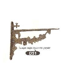 D 51/140мм.държ.етаж. месинг, оксит,антик. ЛИКВИДАЦИЯ-65%