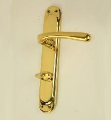 Дръжки за врата Е 19 01 01цвят месинг, WC. - комплект