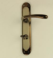 Дръжки за врата E 19 08 11сатен/мед, WC комплект