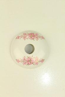 Аксесоари за баня порцелан,розетка десен код 148