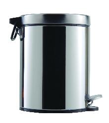 Тоалетни кошчета5л.с педал-неръжд.стомана 304