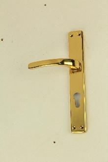 Дръжки за врата 31 01 01 цвят месинг секр. комплект