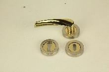 Дръжки за интериорни врати БРАВО 0108R комплект секр.и обикн.