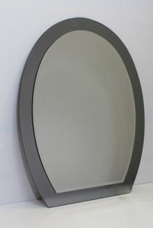3.*****Огледала за баня, кристални бяло/кафяво два плота