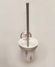 Аксесоари за баня порцелан, държач на тоалетна четка порцелан десен 148