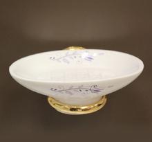 Аксесоари за баня порц.държ. на сапун. десен 108 злато