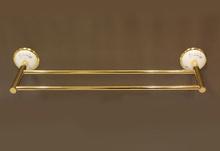 Аксесоари за баня порцелан,кърподърж. двоен злато