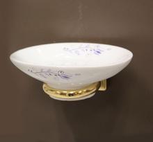 Аксесоари за баня порцелан,д-ч на сапун.десен108