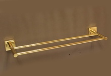 Аида-Аксесоари за баня порцелан,кърп-л 2-ен злато
