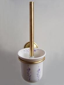 Аксесоари за баня от месинг д-ч на тоал. четка порцелан 108