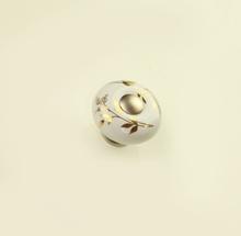 Мебелни дръжки с порцелан модел 3035 метал сатен 178