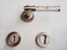Дръжки за врати лукс м-л РЕТРО розет. сатен обикн.170