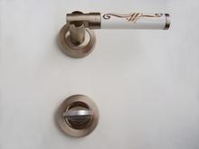 Дръжки за врати луксозни м-л РЕТРО розет. сатен WC.170