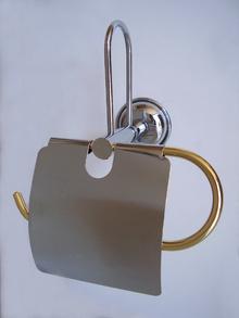 Аксесоари за баня,д-ч на тоал. х-ия резерва хр./злато
