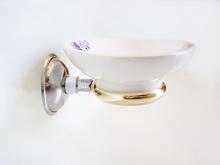 сапунека хромирана злато стъкло