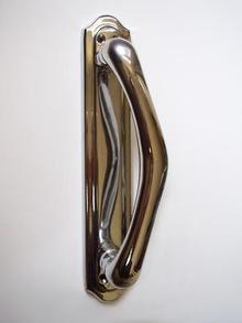 Дръжка за летяща врата месинг 240505 цвят хром