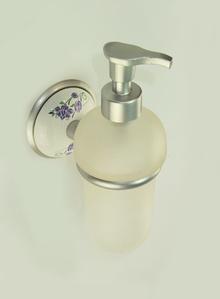 Държач на дозатор за течен сапун стъкло