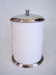 Аксесоари за баня порцелан,тоалетен кош лукс 5л.