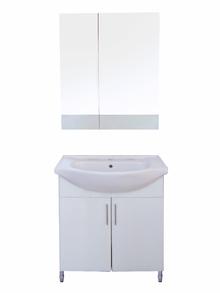 Мебели за баня PVC цени 65см.оглед. бял РАЗПРОДАЖБА