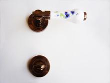 3.*****Дръжки за врати луксозни- модел РЕТРО тип розетки цвят антик