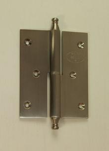 Луксозни панти за врати от месинг,цвят сатен
