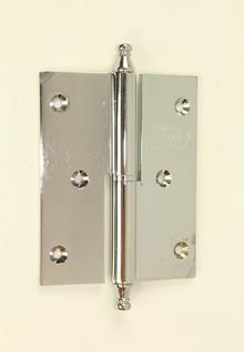 Луксозни панти за врати от месинг,цвят хром